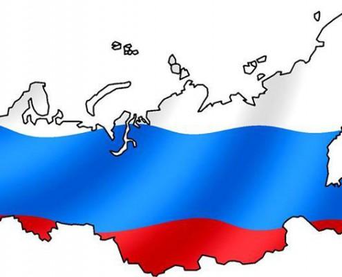 mapa zastava rusije